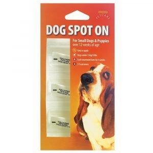 Gullivers Small Dog Spot On 12 Week x 1