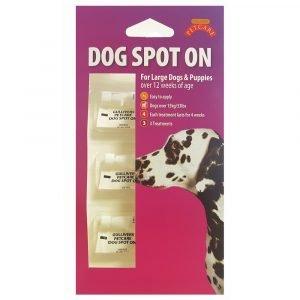 Gullivers Large Dog Spot On 12 Week x 1