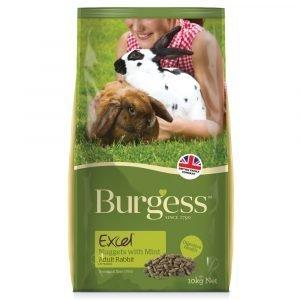 Burgess Excel Adult Rabbit  Mint 10kg