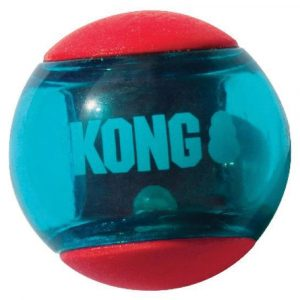 KONG Squeezz Action Ball Red Medium X 3