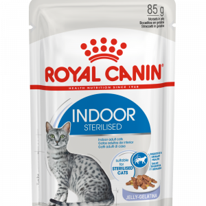 ROYAL CANIN? Indoor Sterilised In Jelly Adult Wet Cat Food
