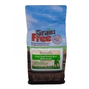 Kenneths Grain Free Adult Dog Food – Lamb