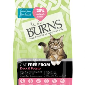 Burns Free From Cat – Duck 2kg